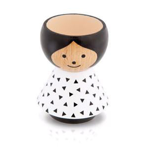 Bordfolk Girl Egg Cup on Design Life Kids