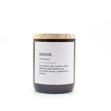 Commonfolk Collective Moon Candle on Design Life Kids
