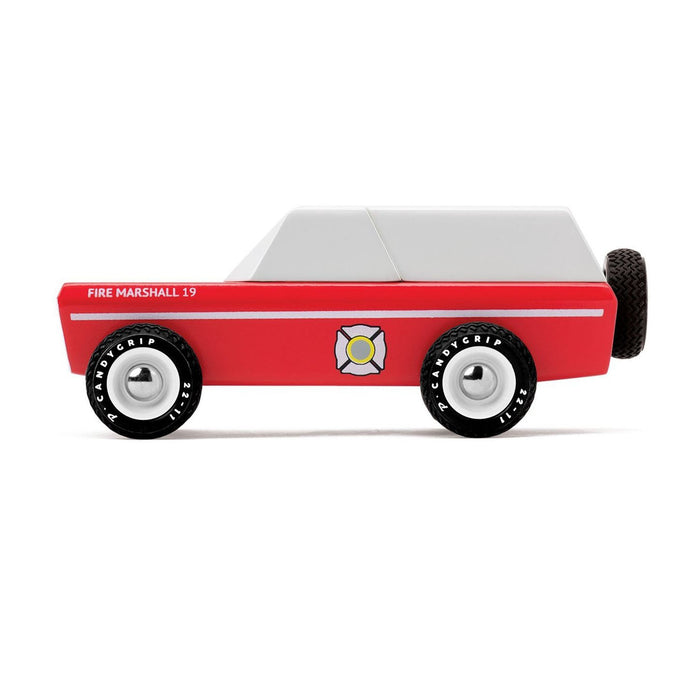 Candylab Toys Fire Chief Wooden Car on Design Life Kids