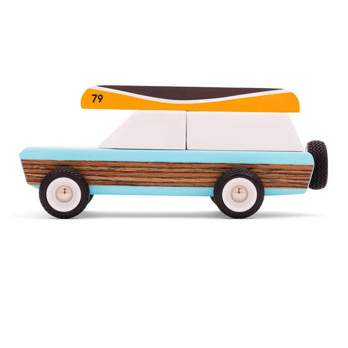 Candylab Pioneer Wooden Toy Car on Design Life Kids