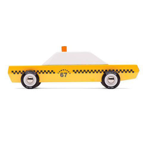 Candylab Toys Yellow Taxicab on Design Life Kids