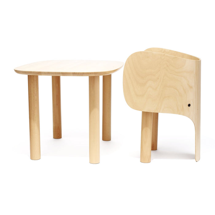 Elements Optimal Elephant Table and Chair at Design Life Kids