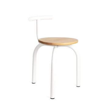 Esaila White Ogle Chair on Design Life Kids