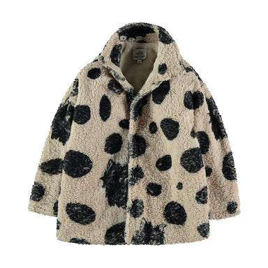 Fresh Dinosaurs Faux Fur Coat on Design Life Kids