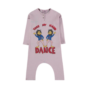 Fresh Dinosaurs Lobo Dance Overall on Design Life Kids