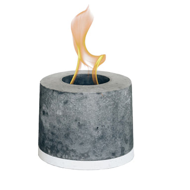 Concrete Tabletop Fireplace on Design Life Kids