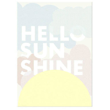 Friday + Today Hello Sunshine Print on Design Life Kids