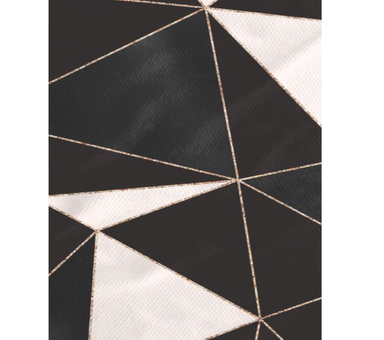 Geometry Prisms Tea Towel at Design Life Kids