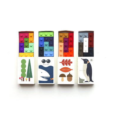 Goober Crayons Pocket Crayon Lego Blocks on Design Life Kids