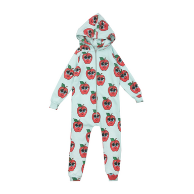Hugo Loves Tiki Apples Hooded Jumpsuit on Design Life Kids .png
