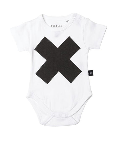 Huxbaby Cross Onesie on Design Life Kids