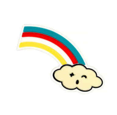 Light and Nine Rainbow Cloud DIY Patch at Design Life Kids