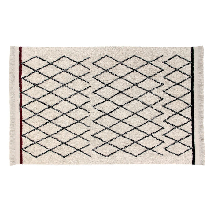 Lorena Canals Bereber Crisscross Area Rug at Design Life Kids