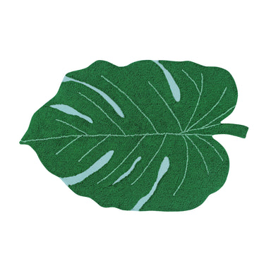 Lorena Canals Monstera Leaf Rug at Design Life Kids