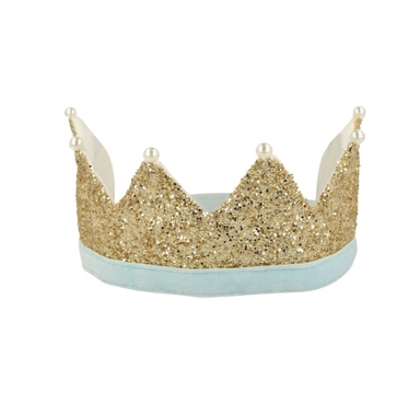 Meri Meri Gold and Pearl Party Crown at Design Life Kids