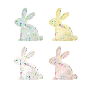 Meri Meri Wildflower Bunny Plates at Design Life Kids