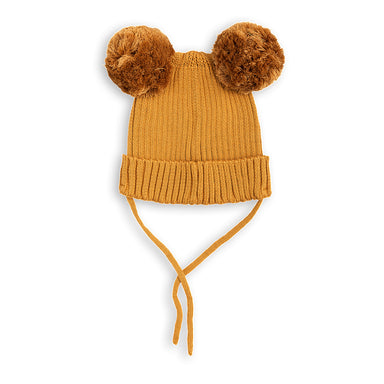 Mini Rodini Pom Pom Ear Hat at Design Life Kids