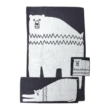 Morihata Bear Bath Towels at Design Life Kids