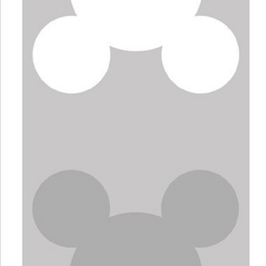 Cooee Design Grey Mouse Print on Design Life Kids