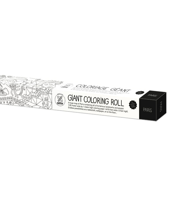 OMY XXL Coloring Roll at Design Life Kids