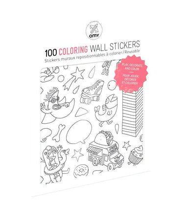 OMY Reusable Wall Stickers at Design Life Kids