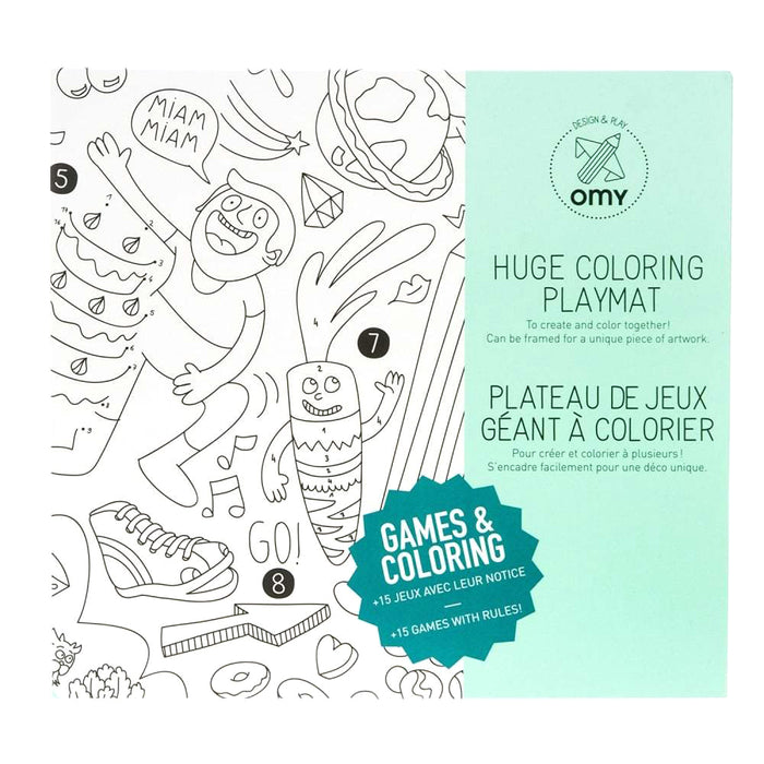 Omy Coloring Placemats at Design Life Kids