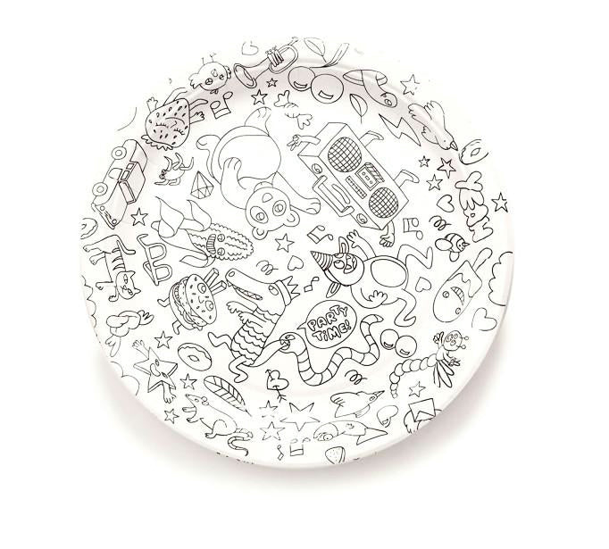 OMY Fun Paper Party Plates at Design Life Kids