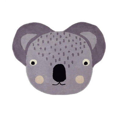 OYOY Living Koala Shaped Rug on Design Life Kids