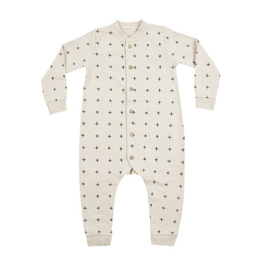 Rylee + Cru Cross Long Sleeve Jumpsuit on Design Life Kids