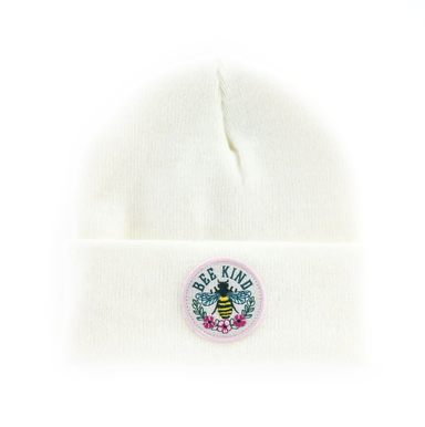 Seaslope Bee Kind Beanie on Design Life Kids