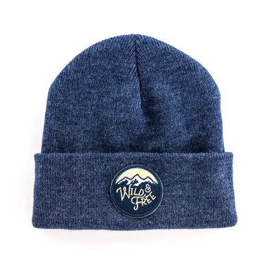 Seaslope Wild and Free Beanie on Design Life Kids