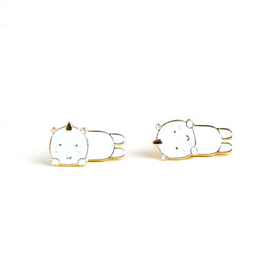 Smoko Elodie Unicorn Earrings on Design Life Kids