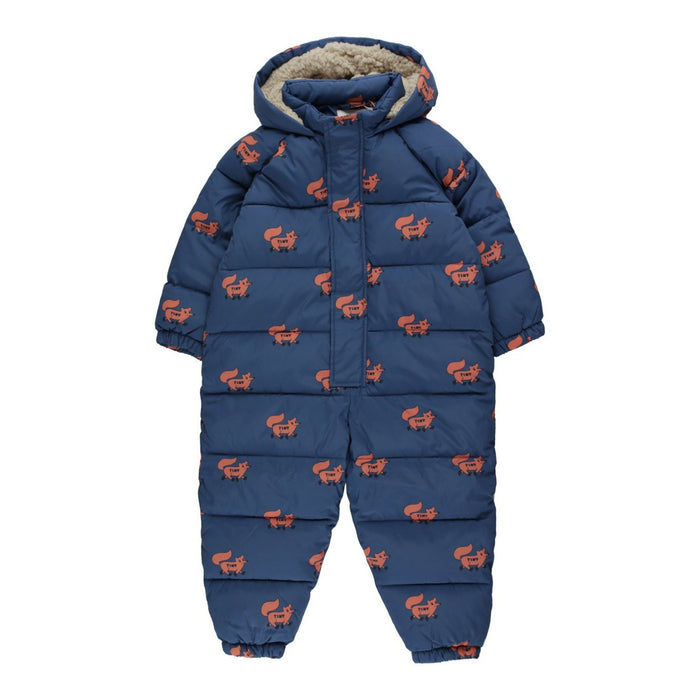Tiny Cottons Foxes Padded Onepiece on Design Life Kids