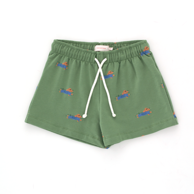 Tiny Cottons Doggy Paddle Shorts on Design Life Kids