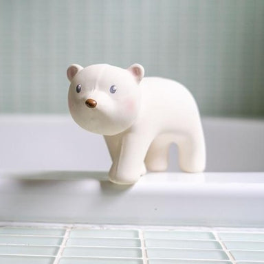 Tikiri Toys Arctic Polar Bear Rattle on Design Life Kids