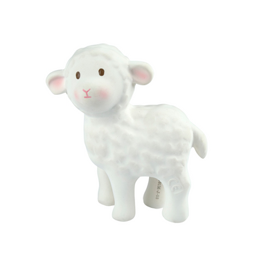 Tikiri Toys Lamb Rattle on Design Life Kids