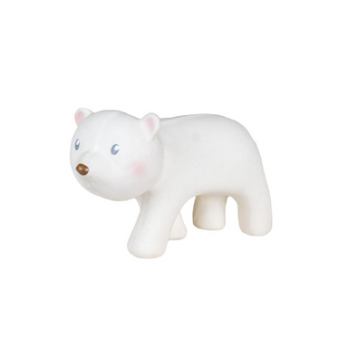 Tikiri Toys Arctic Polar Bear Bath Toy Rattle on Design Life Kids