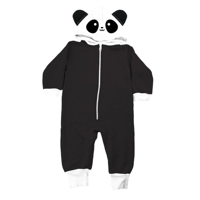 Whistle & Flute Kawaii Panda Romper on Design Life Kids