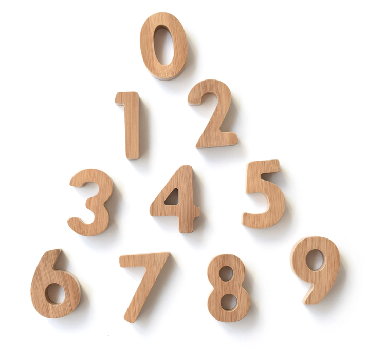 Wee Gallery Bamboo Numbers on Design Life Kids