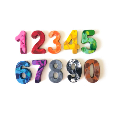 Whimsicolor Numbers Crayon Set on Design Life Kids