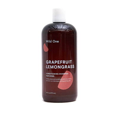 Wild One Grapefruit Lemongrass Dog Shampoo on Design Life Kids
