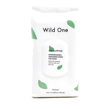 Wild One Biodegradeable Eucalyptus Grooming Wipes on Design Life Kids