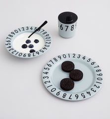 Design Letters Number Set Melamine on DLK | designlifekids.com