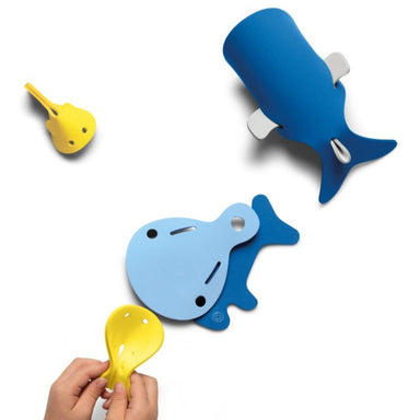 Quut Whales 3D Puzzle Bath Toy on Design Life Kids