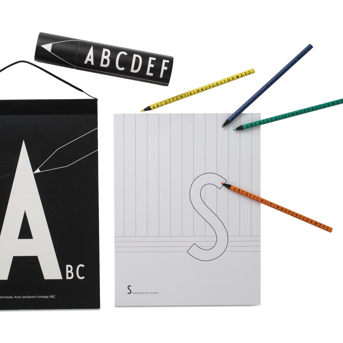Design Letters ABC Coloring Book on DLK