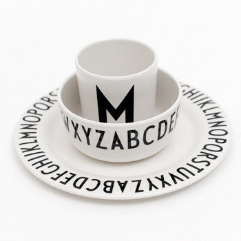 Design Letters ABC MELAMINE BOWL ON DLK