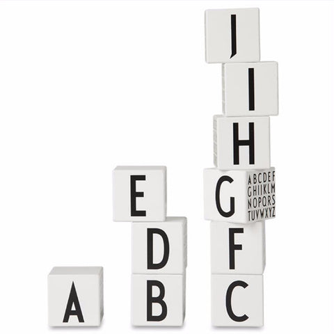 Design Letters Alphabet Blocks on DLK
