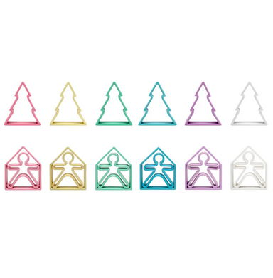Deva Pastel Silicone Kids House Tree Set on Design Life Kids