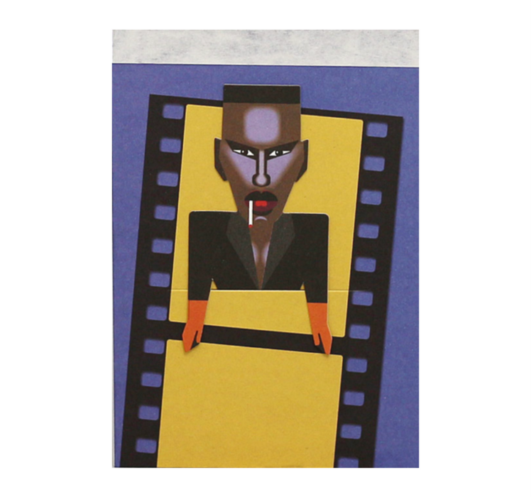 Noodoll Grace Jones Artist Sketchbook on DLK | designlifekids.com
