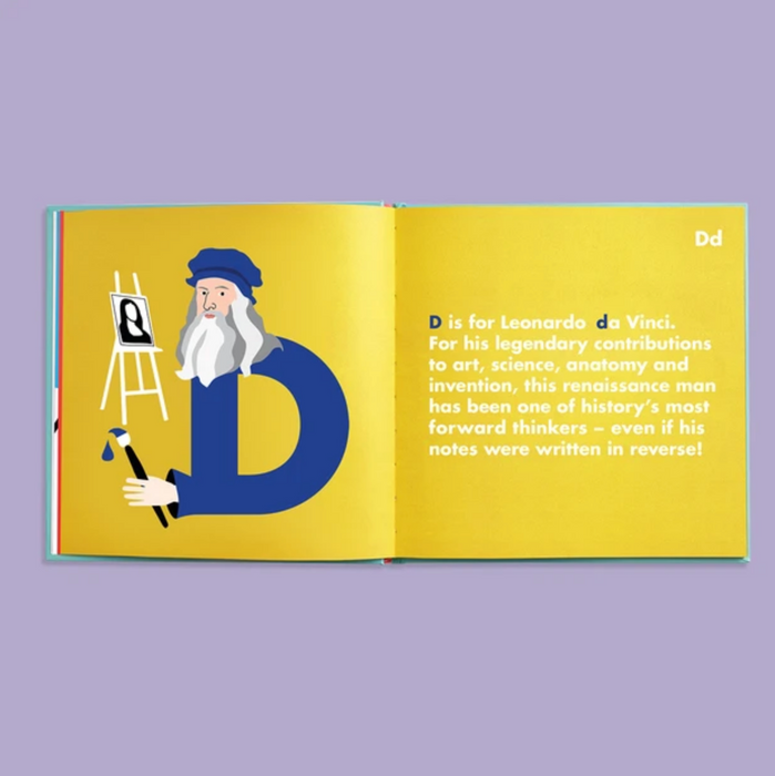 Dyslexic Legends Alphabet Book on Design Life Kids